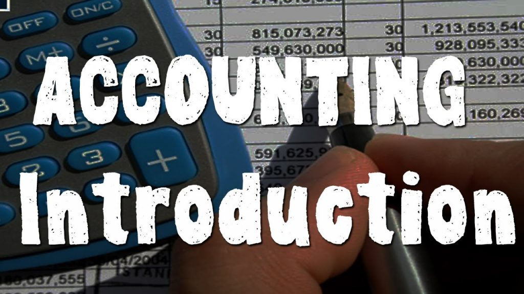 Accounting – An Introduction
