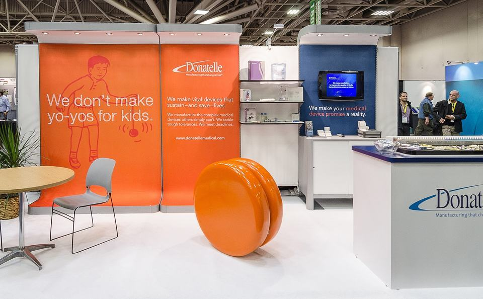 Trade Show Booth Design and Layout Ideas